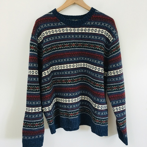 American Eagle Outfitters Other - American Eagle Vintage Nordic Lambswool Sweater